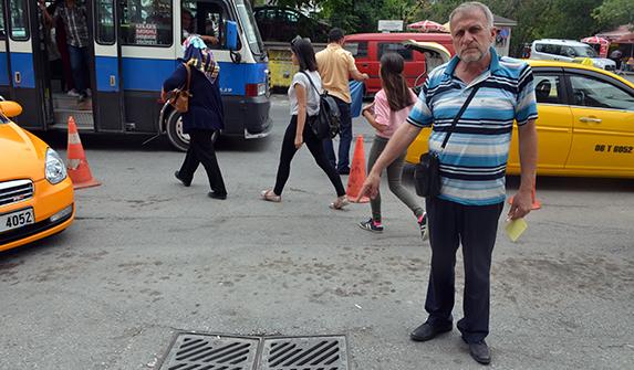 Taksici Ali Zırvalı (Fotoğraflar: Seyfettin Ersöz)