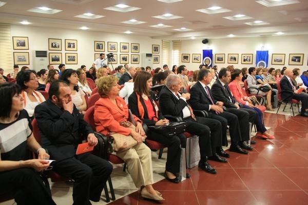 Açılış ve Tanıtım toplantısı, 100. Yıl Salonu'nda yapıldı.