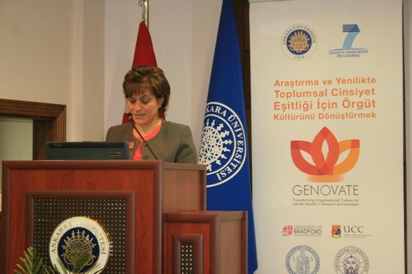 Bakan Yardımcısı Doç. Dr. Aşkın Asan, Ankara Üniversitesi'ne teşekkür etti.