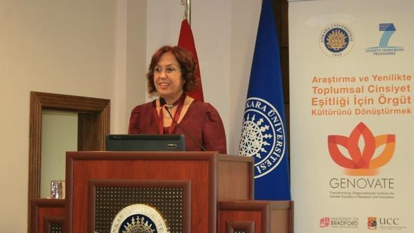 Prof. Dr. Serpil Sancar, ''Kadın istihdamında hedef yüzde 50''