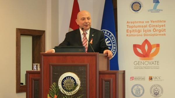 Toplantının ev sahibi Rektör Prof. Dr. Erkan İbiş'ti.