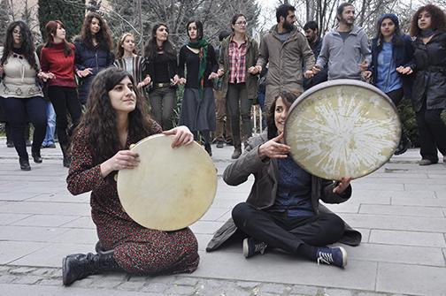 Cebeci'de Dünya Emekçi Kadınlar Günü kutlamaları erken başladı-iç
