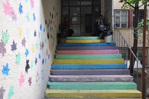 İLEF merdivenleri