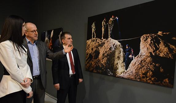 """Frederic Lafargue'in """"DAEŞ'ten Kaçış"""" başlıklı fotoğrafı"""