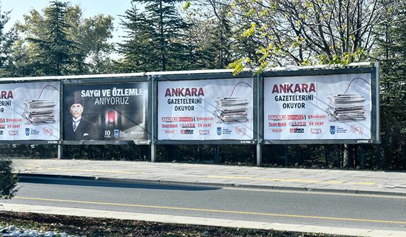 Ankara Büyükşehir Belediyesi'nden yerel gazetelere tanıtım desteği