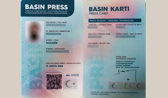 CİB, basın kartı için savunma verecek