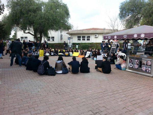 Berkin icin Çukurova Üniversitesi'nde R1 alanından Kültür Müdürlüğü önüne bir yürüyüş yaptı.  Kültür Müdürlüğü önünde de oturma eylemi yapıldı.