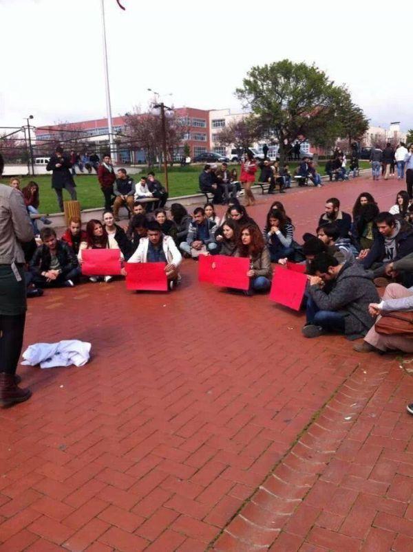 Adnan Menderes Üniversitesi de Berkin için direndi.