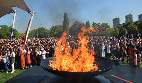 Ankara Üniversitesi'nde bilim ateşi bir kez daha yakıldı