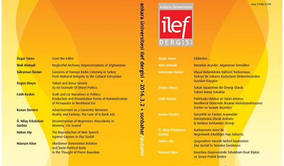 İLEF Dergisi Sonbahar sayısı yayımlandı