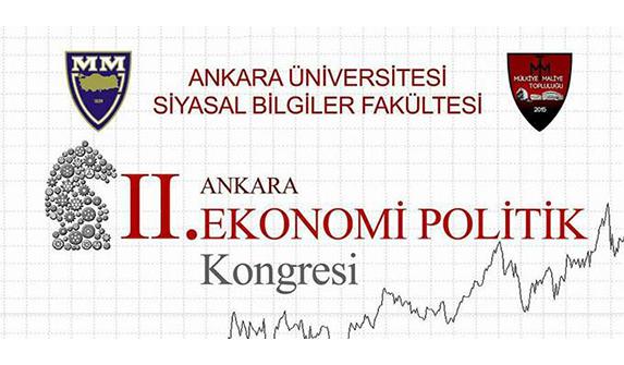 Ankara II. Ekonomi Politik Kongresi yarın SBF'de düzenlenecek