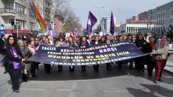 8 Mart Dünya Emekçi Kadınlar Günü Ankara'da büyük coşkuyla kutlandı.