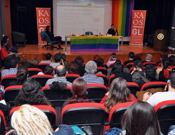 Kaos GL'nin düzenlediği Uluslararası Feminist Forum ilk günü Ahmet Taner Kışlalı Sanatevi'nde gerçekleşti.