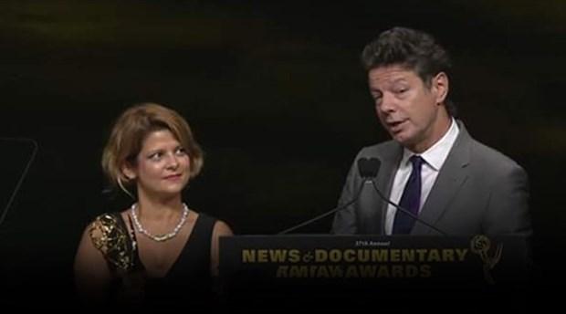 İLEF'li gazeteci Zeynep Erdim Emmy ödülü kazandı