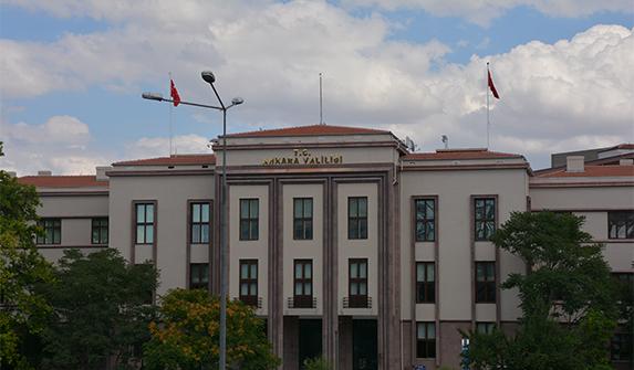 Ankara valiliği tarihi binasından taşındı