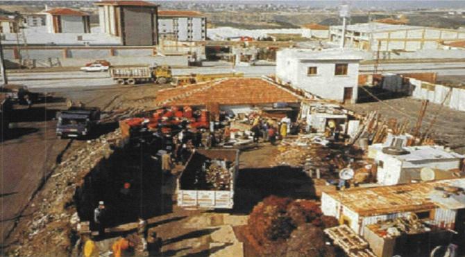 İkitelli'de meydana gelen nükleer kazanın yaşandığı hurdalık alan