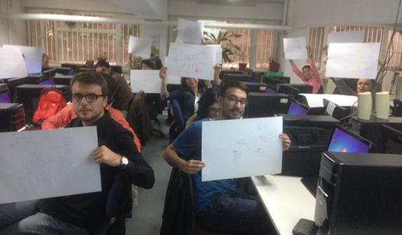 İLEF'te Zihin Haritalama ile Akademik Çalışma Atölyesi yapıldı