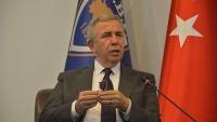 """Mansur Yavaş SBF'de: """"Gençlerin mutlu olabileceği bir Ankara için ne varsa yapacağız"""""""
