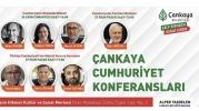 """Çankaya Belediyesi'nden """"Cumhuriyet Konferansları"""""""