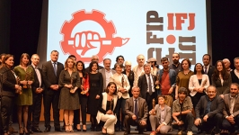 ÇGD'nin ödül töreninde basın özgürlüğü vurgusu