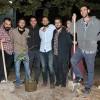 İLEF'in 2016 mezunları Yeni Açık'a ıhlamur ağacı dikti