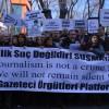 """Çalışan Gazeteciler Gününde """"çalışamayan"""" gazetecilere destek"""