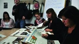 Hollandalı öğrencilerin, Görünüm ziyareti
