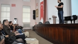 Erdil Yaşaroğlu Hukuk Fakültesi'ndeydi