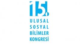 15. Ulusal Sosyal Bilimler Kongresi başlıyor