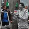Sokaklarda sanatın sesi