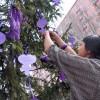 İLEF'li kadınlar taleplerini dilek ağacını astı