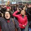 Ankaralı kadınlar 8 Mart'ta alandaydı