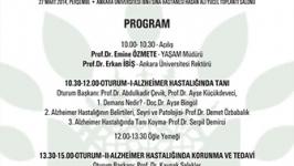 A.Ü. YAŞAM'dan Alzheimer Farkındalık Konferansı