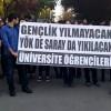 Üniversite öğrencileri YÖK'ü protesto etti