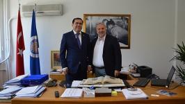 Özbek Rektör Kuudratkhodjaev'den İLEF'e ziyaret