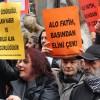 Gazeteciler baskı ve sansüre karşı sokağa çıktı