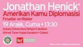Jonathan Henick İLEF'te konferans verecek