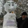 """İLEF Dekanı Altun: """"Kardan adam ne ki, heykelimi diktireceğim"""""""
