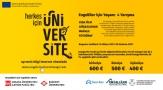 """Engelli üniversitelilerle ilgili farkındalığı artıracak yarışma: """"Herkes için Üniversite"""""""