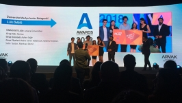 A Awards Junior'da birincilik İLEF'in