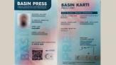 Yeni basın kartları dağıtılmaya başlandı: Rengi artık sarı değil