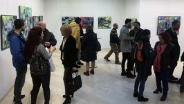 Ressam Kanmaz'ın sergisi açıldı
