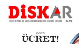 DİSK-AR dergisi yeniden
