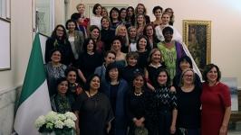 İtalya Büyükelçiliği'nde 8 Mart Etkinliği: Elçi eşleri fotoğraf sergisi