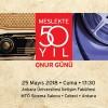 Meslekte 50. Yıl Onur Günü 25 Mayıs'ta İLEF'te