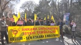 Ankara'dan Marmara İletişim'e destek eylemi