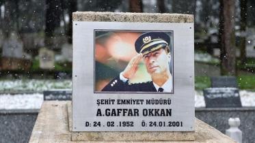 Gaffar Okkan anılıyor