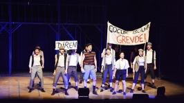 """""""Gasteci"""" direnişi müzikalle sürüyor"""