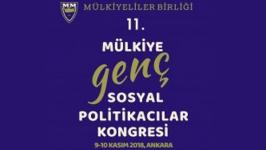Mülkiye Genç Sosyal Politikacılar Kongresi Başlıyor