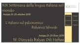 Dünyada İtalyan Dili Haftası'nda 3. gün